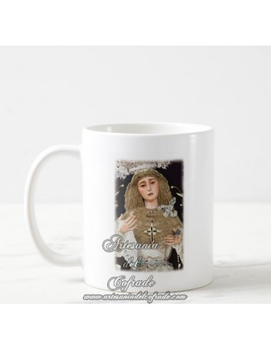 Se vende taza cofrade de la Virgen del Subterráneo de Sevilla