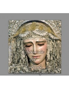 Pieza de Cerámica de la Virgen del Amparo (Cofradía de la Borriquita de Cádiz)