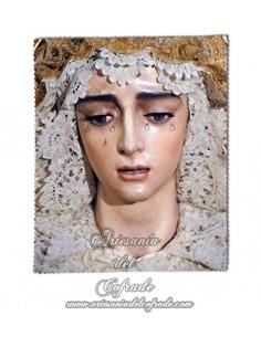 Gamuza para Gafas con la Virgen de la Salud de Sevilla