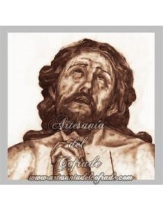 Azulejo del Cristo de las Penas de la Hermandad de la Estrella de Sevilla