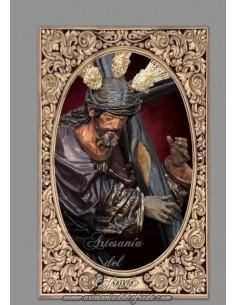 Se vende baldosa cerámica de Nuestro Padre Jesús de la Salud de Sevilla