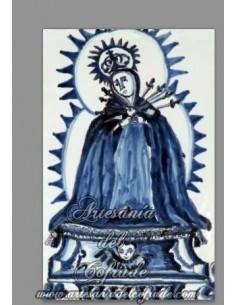 Se vende baldosa de cerámica de la Virgen de los Dolores