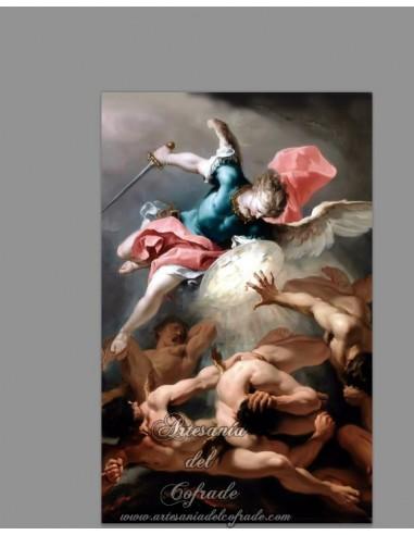 Se vende cerámica del Arcángel San Miguel y los ángeles rebeldes -Tienda Religiosa