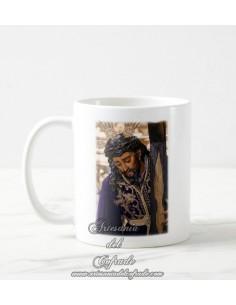 Se vende esta taza cerámica del Cristo de las Tres Caídas de Triana - Tienda Cofrade