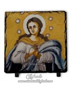 Se vende de pizarra con Virgen de la Inmaculada - Tienda Cofrade