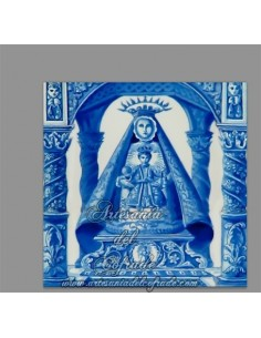 Se vende cerámica de Nuestra Señora de la Caridad de Sanlúcar de Barrameda