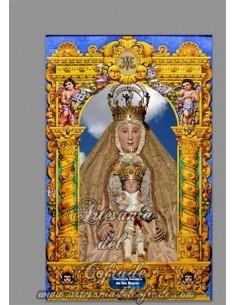 En venta este azulejo de la Virgen de los Reyes (Patrona de Sevilla) - Tienda Cofrade