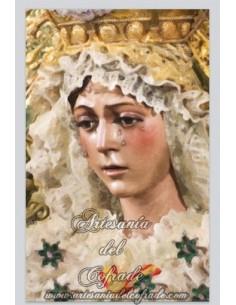 Se vende baldosa de cerámica rectangular de la Esperanza Macarena de Sevilla