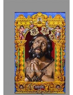 Se vende cerámica del Cristo de las Penas de Sevilla (Hermandad de la Estrella)
