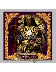 Precioso azulejo cuadrado del Cristo de Medinaceli de Madrid en venta solo en Tienda Cofrade Artesania del Cofrade