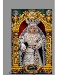 En venta esta cerámica de la virgen de los Desamparados de Cádiz - Tienda Cofrade