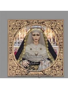 Se vende esta cerámica de la Virgen del Mayor Dolor en su Soledad (Santo Entierro de San Fernando)