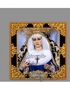 Se vende esta cerámica de la virgen de la Soledad de Servitas de Sevilla - Tienda Cofrade