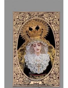 En venta esta cerámica de María Santísima de la Salud (Cofradía de Sanidad de Cádiz) - Tienda Cofrade