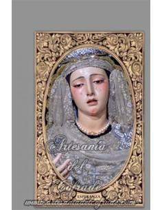 En venta esta cerámica de la Virgen de la Esperanza de la Trinidad (Sevilla) - Tienda Cofrade