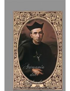 En venta esta cerámicao rectangular del Padre Arnáiz - Tienda de Productos Religiosos