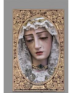 En venta esta cerámica de la Virgen de los Dolores en la Orden Servita de San Fernando (Cádiz)- Regalos Cofrades