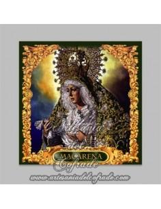 Se vende este azulejo de la Virgen Esperanza Macarena de Sevilla - Tienda Cofrade