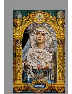 Se vende este azulejo de la Virgen de los Dolores de la Cofradia del Nazareno de Cádiz