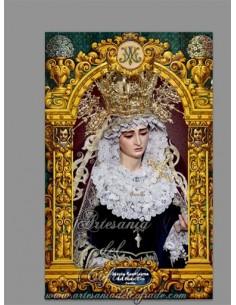 En venta este azulejo rectangular de la Virgen del Buen Fin de Sevilla - Tienda Cofrade