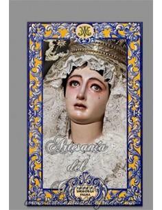 Se vende ceramica de Madre de Dios de la Palma de Sevilla (Cofradía del Cristo de Burgos)