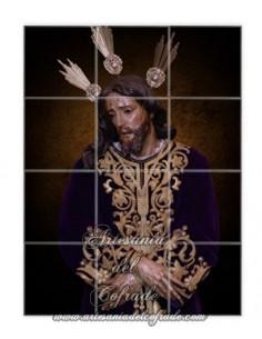 En venta este retablo de 12 azulejos del Cristo del Prendimiento de Jerez-Tienda Cofrade