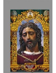 En venta este azulejo de Nuestro Padre Jesús de la Soledad de Málaga - Tienda Cofrade