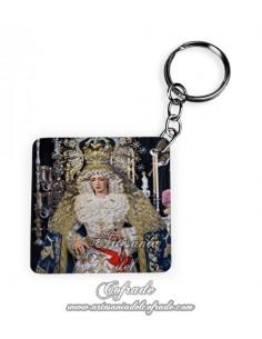 Se vende llavero de la Virgen de los Ángeles de Sevilla (Hermandad de los Negritos)