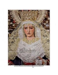 Se vende este mosaico de 12 azulejos de María Santísima de la O de Sevilla. Cofradia de la O