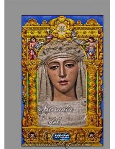 Se vende esta cerámica de Nuestra Señora de la Esperanza de Triana (Sevilla)