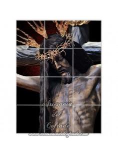 Retablo de 12 azulejos del Santísimo Cristo del Remedio de Ánimas de Cordoba - Tienda Cofrade