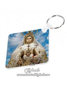 Llavero Cuadrado de Nuestra Señora del Rosario (Patrona de Cádiz) - Tienda de Semana Santa