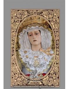En venta este Azulejo de la Virgen de la Amargura de Puerto Real (Cádiz) - Tienda de Productos de Semana Santa