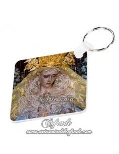 Llavero de la Virgen de la Esperanza Coronada (Hermandad de la Yedra de Jerez de la Frontera)