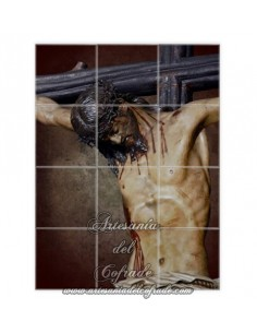 Retablo de 12 azulejos del Santísimo Cristo de la Fundación de Sevilla - Tu tienda Cofrade