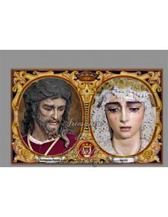 Azulejo rectangular de los titulares de San Gonzalo de Sevilla de venta en tu Tienda Cofrade Online