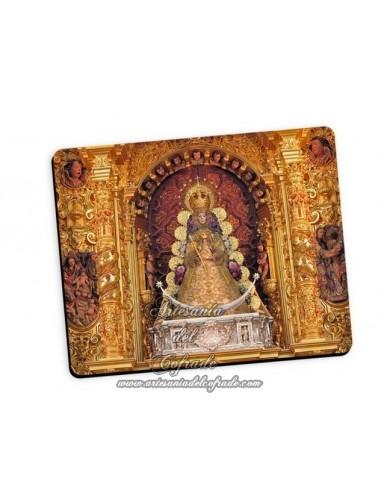Alfombra de ratón con la Virgen del Rocio (Patrona de Almonte) más souvenirs y regalos para el Rociero en nuesta web