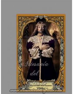 """Azulejo de cerámica de Nuestro Padre Jesús Nazareno """"El Pobre"""" de Madrid, solo en venta en nuestra tienda de Semana Santa"""