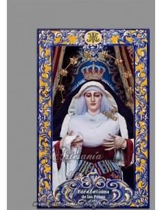 Cerámica de la Virgen de las Penas de Cádiz (Cofradía de La Palma) en venta solo en nuestra Tienda Cofrade online