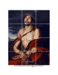 Retablo de 12 azulejos de Jesús del Ecce-Homo solo en venta en nuestra Tienda de productos relgiosos