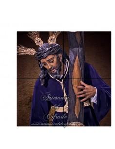 Retablo de 4 azulejos del Santísimo Cristo de las Tres Caídas de Sevilla en venta solo en nuestra tienda cofrade
