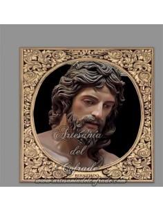 Azulejo cuadrado de Nuestro Señor Jesucristo Resucitado del Puerto Santa María (Cádiz)