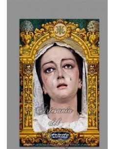 Azulejo rectangular de María Santísima de la Trinidad de Cádiz solo en venta en nuestra tienda cofrade online