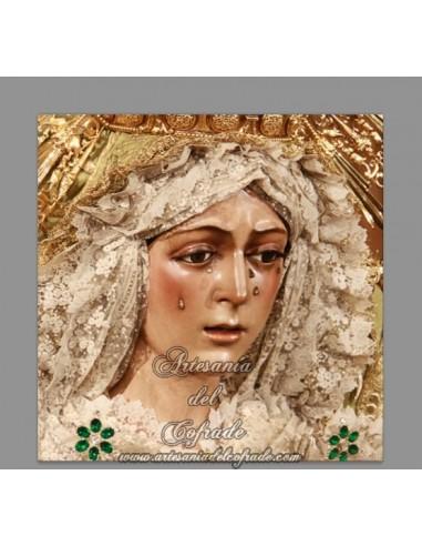 Se vende mosaico de cerámica de la Virgen Esperanza Macarena de Sevilla