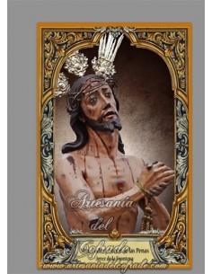 Azulejo rectangular con el Cristo de las Penas de Jerez (Cofradía de Los Judios de San Mateo) en venta solo en la tienda online