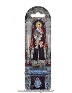 Marca página de plástico de Nuestro Padre Jesús de la Pasión y Nuestra Madre y Señora de la Merced de Sevilla