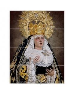 Retablo de 12 azulejos de María Santísima de los Dolores de Sevilla -Penas de San Vicente- en venta en tu tienda web