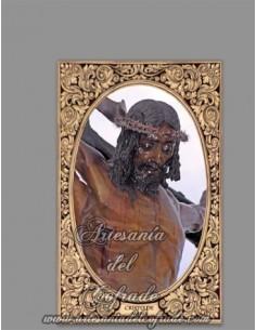 Azulejo rectangular del Cristo de Mena de Malaga (Cristo de los legionarios) en venta en nuestra tienda cofrade