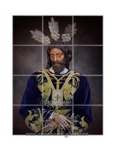 En venta este retablo de 12 azulejos de Nuestro Padre Jesús Cautivo del Amor de Jerez-Tienda Cofrade