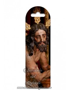Marca página de plástico de la Sagrada Columna y Azotes de Nuestro Señor Jesucristo (Las Cigarreras de Sevilla)